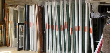 Fenêtre oscillo battante 2 vantaux ALU 1200 x 1100H  399.78€ TTC ref 29